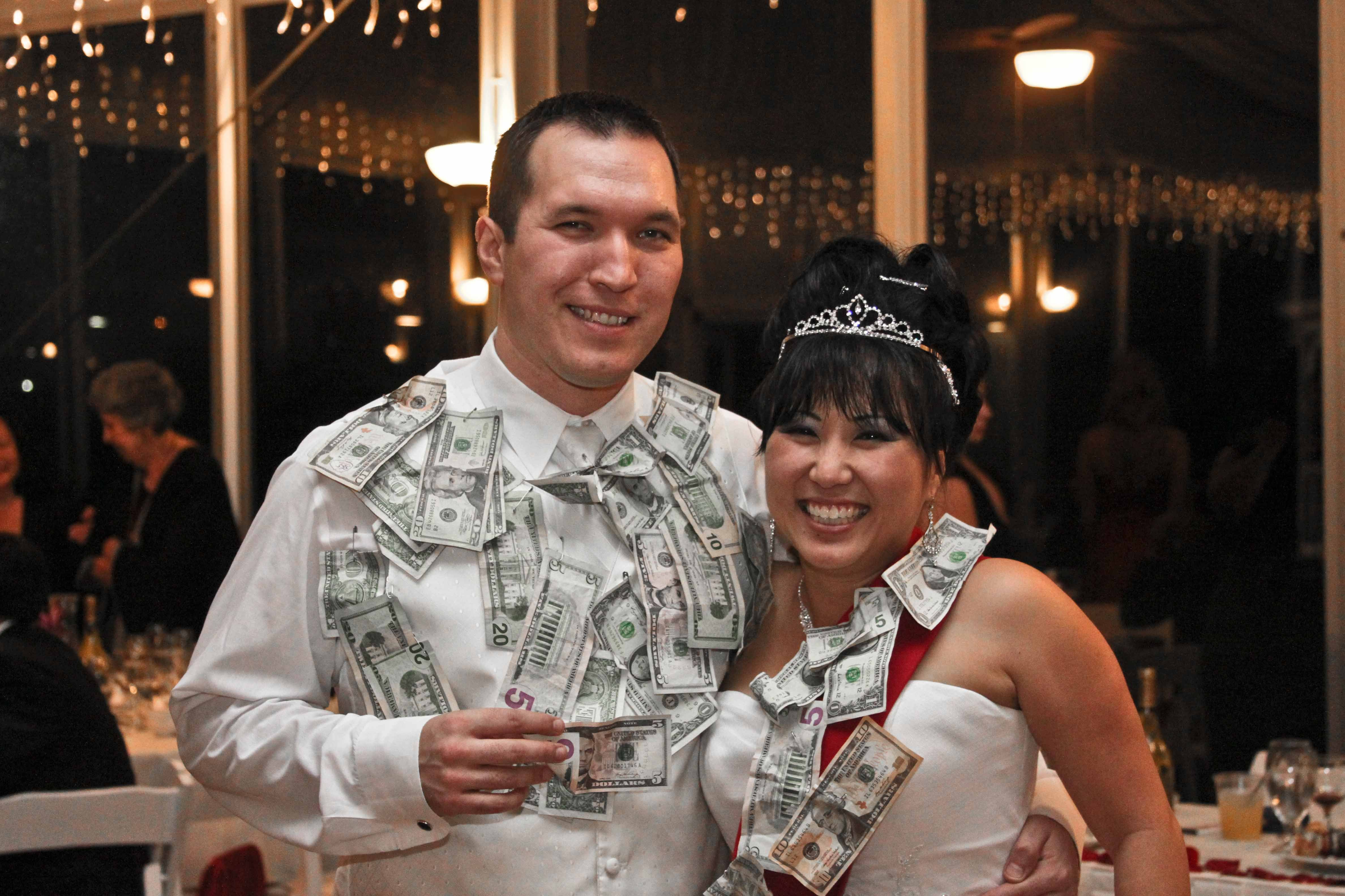 Reception, Flowers & Decor, Dance, Money