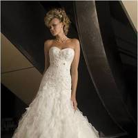 Wedding Dresses, Ruffled Wedding Dresses, Fashion, dress, Ruffles, Wu, Christina
