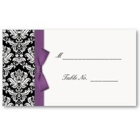 Stationery, white, purple, black, Invitations, Inspiration board