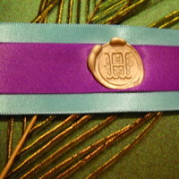 Beauty, DIY, Stationery, purple, green, Feathers, Invitations, Seal, Ribbon, Satin, Turquoise, Peacock, Wax, Vellum, Feather, Claytonandshauna