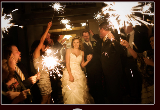 Ceremony, Flowers & Decor, Sparklers