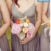 Flowers & Decor, Bridesmaids, Bridesmaids Dresses, Fashion, gray, Bridesmaid Bouquets, Flowers, Flower Wedding Dresses