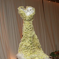 Reception, Flowers & Decor, Cakes, white, silver, gold, cake, Centerpieces, Winter, Flowers, Centerpiece, Buffet, Christmas