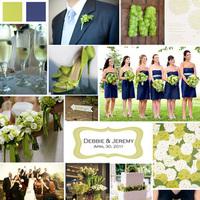 Flowers & Decor, blue, green, Flowers, Inspiration board