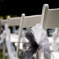 Ceremony, Flowers & Decor, white, black, Tables & Seating, Chairs, Aisle, Seating