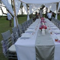Reception, Flowers & Decor, pink, silver