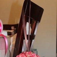Ceremony, Flowers & Decor, pink, brown, Pomander