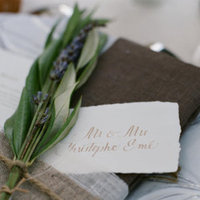 Reception, Flowers & Decor, Favors & Gifts, purple, green, favor, Rustic, Rustic Wedding Favors & Gifts, Rustic Wedding Flowers & Decor, Place, Setting, Herbs