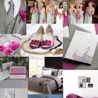 Bridesmaids, Bridesmaids Dresses, Wedding Dresses, Shoes, Fashion, pink, silver, dress, Inspiration board