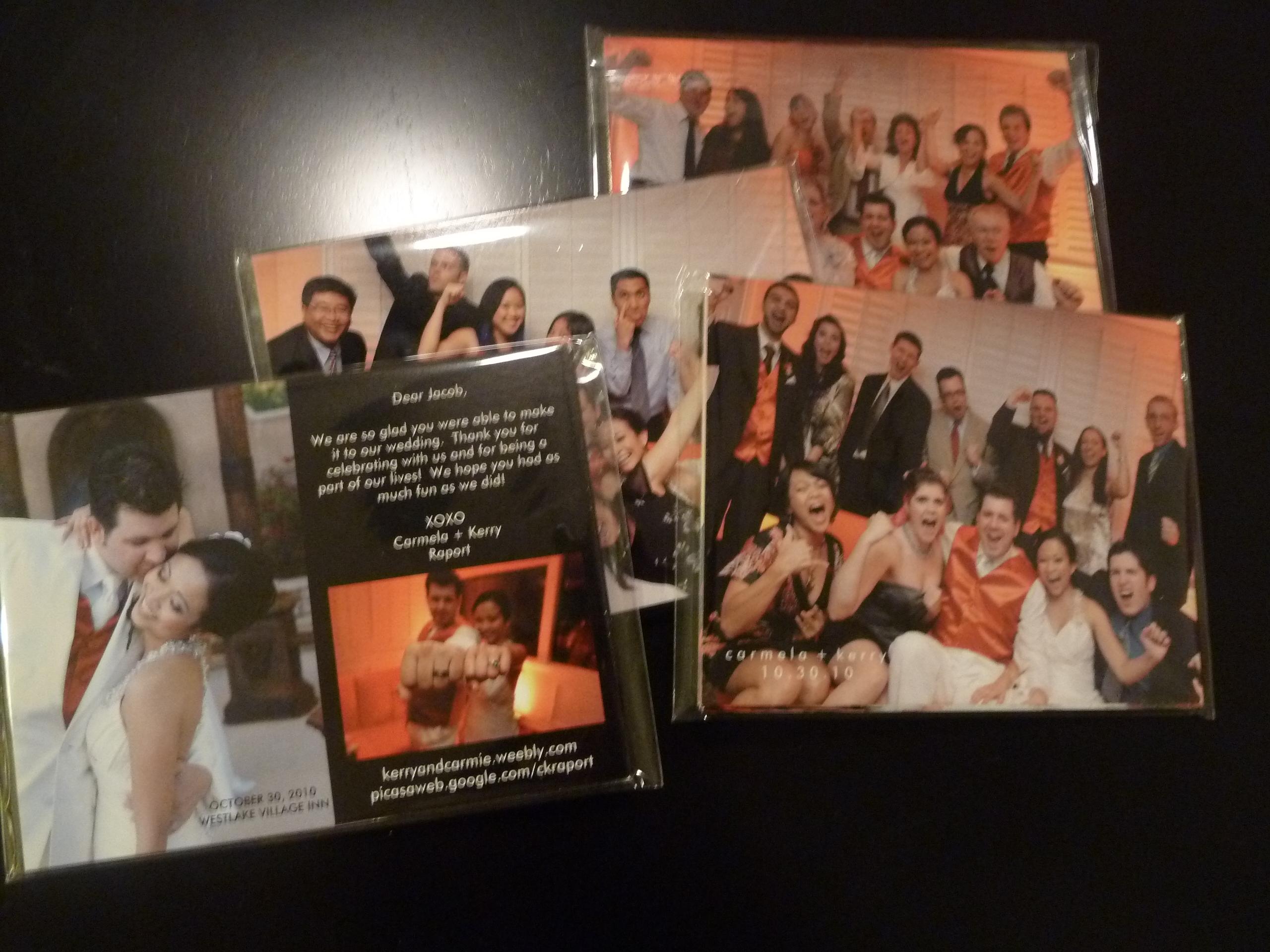 Postcard, Thank you, Thank you postcard