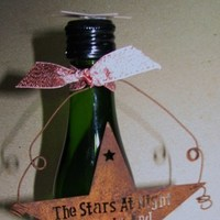 Reception, Flowers & Decor, Favors & Gifts, ivory, favor, Favors, Escort, Champagne, Card, Texas, Wine, Star