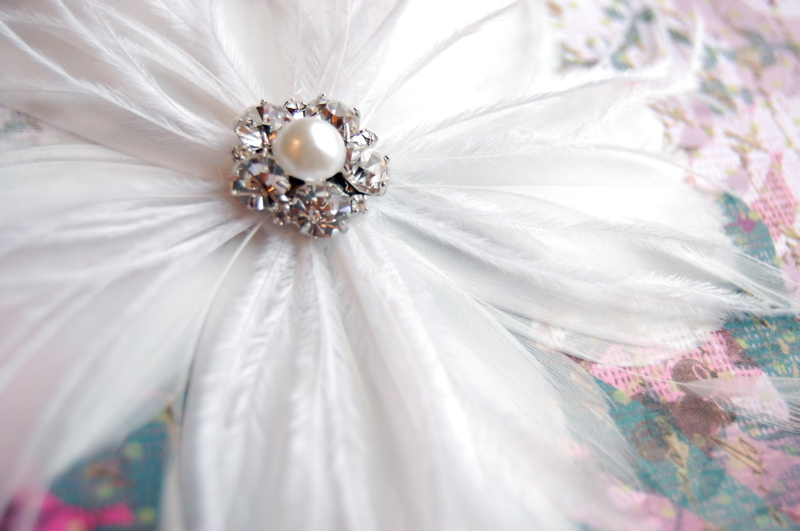 Beauty, Ceremony, Reception, Flowers & Decor, Jewelry, white, yellow, orange, pink, red, purple, blue, green, brown, black, silver, gold, Updo, Ceremony Flowers, Flowers, Flower, Wedding, Hair, Day, Fascinator