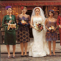 Bridesmaids, Bridesmaids Dresses, Vintage Wedding Dresses, Fashion, Vintage
