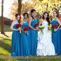 Beauty, Flowers & Decor, Jewelry, Bridesmaids, Bridesmaids Dresses, Wedding Dresses, Fashion, white, red, blue, brown, dress, Makeup, Bridesmaid Bouquets, Flowers, Bridesmaid, Hair, Teal, Flower Wedding Dresses