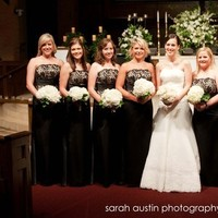 Bridesmaids, Bridesmaids Dresses, Wedding Dresses, Fashion, white, black, dress