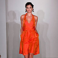 Bridesmaids, Bridesmaids Dresses, Wedding Dresses, Fashion, orange, dress