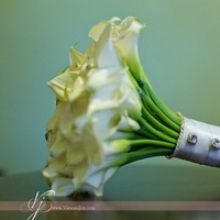 Flowers & Decor, white, silver, Flowers