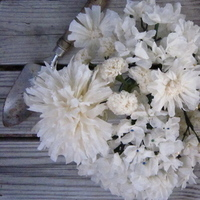 Ceremony, Reception, Flowers & Decor, white, ivory, Ceremony Flowers, Bride Bouquets, Centerpieces, Flowers, Bouquet, Centerpiece, Cream, Arrangment