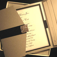 Stationery, silver, Invitations
