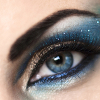 Beauty, blue, Makeup, Smokey, Arabic, Claytonandshauna