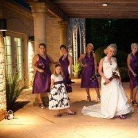 Reception, Flowers & Decor, Bridesmaids, Bridesmaids Dresses, Wedding Dresses, Shoes, Fashion, white, purple, blue, dress