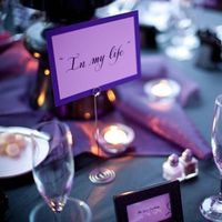 Reception, Flowers & Decor, white, purple, black