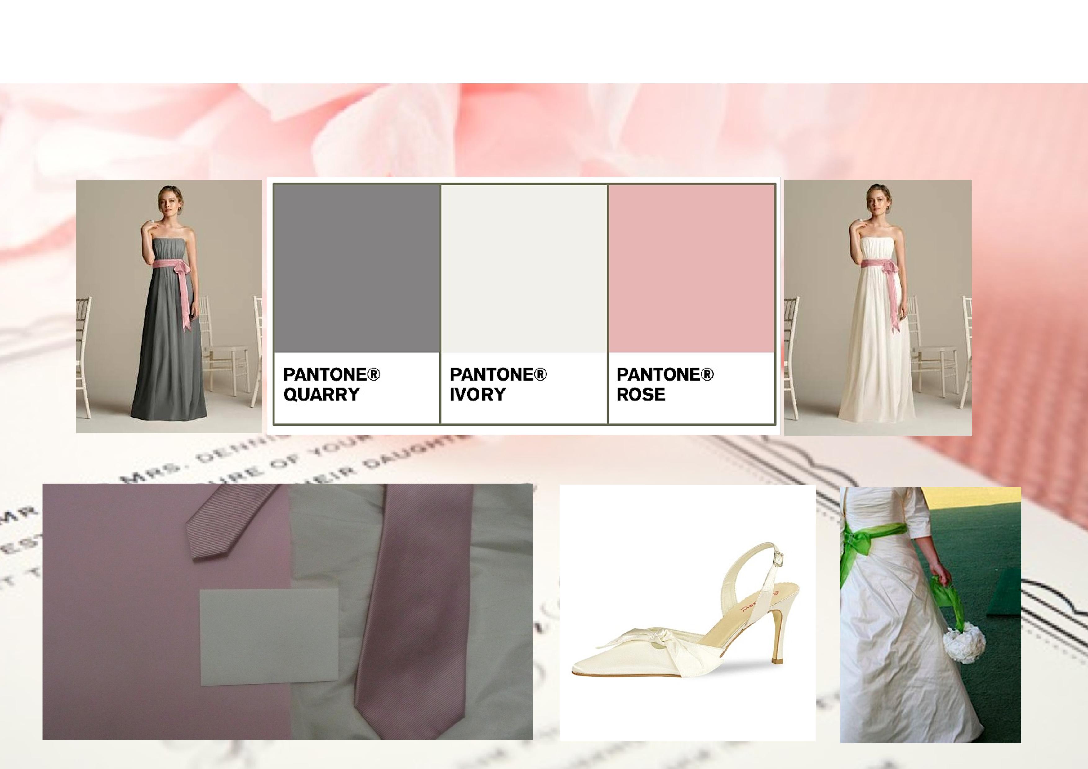 Flowers & Decor, Bridesmaids, Bridesmaids Dresses, Wedding Dresses, Shoes, Fashion, white, pink, silver, dress, Bridesmaid Bouquets, Flowers, Flower Wedding Dresses