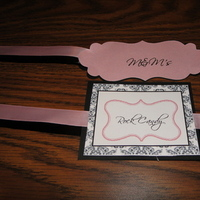Favors & Gifts, pink, black, Favors