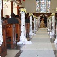 Ceremony, Flowers & Decor, Wedding Dresses, Fashion, black, gold, dress, Ceremony Flowers, Flowers, Decorations, Flower Wedding Dresses