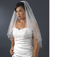 Beauty, Wedding Dresses, Veils, Fashion, white, dress, Veil, Hair, Bridal, 2, Tier, Davids, 258, Db, 45010683, Vct, 445010007616