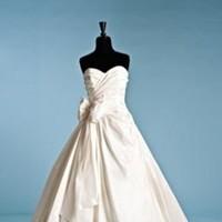 Ceremony, Reception, Flowers & Decor, Wedding Dresses, Fashion, white, purple, black, silver, dress