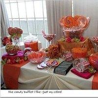 orange, Candy