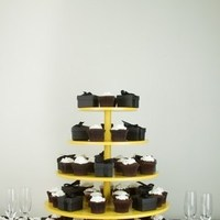 Ceremony, Reception, Flowers & Decor, Favors & Gifts, Cakes, yellow, cake, Favors, Cupcake, Stand, Inspiration board