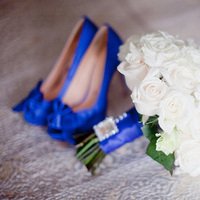 Photography, blue, green, City, Wedding, Cathedral, Hydrangeas, Chicago, Contemporary, Chic, Film, Indoor, Gina mark