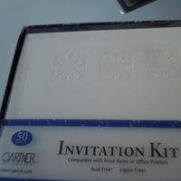 DIY, Stationery, white, invitation, Invitations, Daisy, Daisies