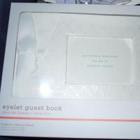 Reception, Flowers & Decor, white, silver, Book, Guest, Martha, Stewart