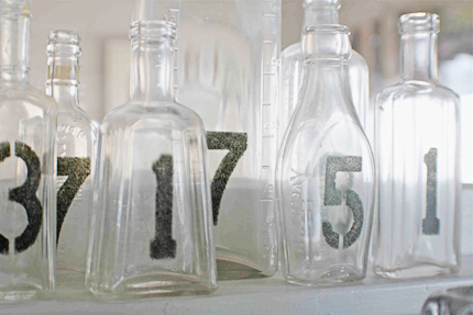 Ceremony, DIY, Reception, Flowers & Decor, Stationery, black, Table Numbers, Vase, Table number