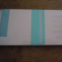 Ceremony, Reception, Flowers & Decor, Stationery, white, blue, Invitations, Brides, Program, Ocean, Collection
