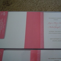 Ceremony, Reception, Flowers & Decor, Stationery, white, pink, brown, Invitations, Programs, Brides, Cherry, Blossoms, Collection