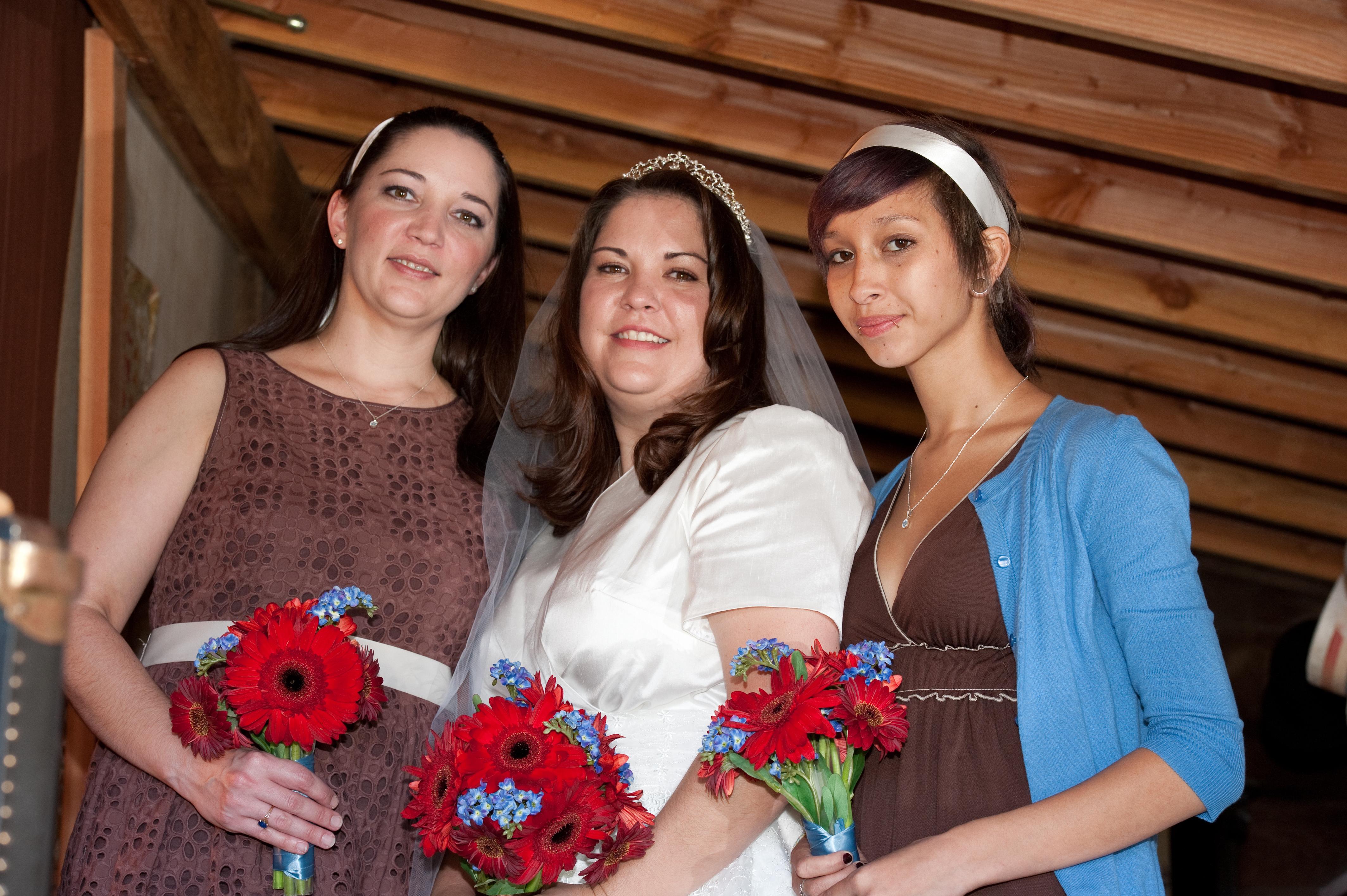 Flowers & Decor, Bridesmaids, Bridesmaids Dresses, Wedding Dresses, Fashion, dress, Bridesmaid Bouquets, Flowers, Flower Wedding Dresses