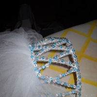 Beauty, Veils, Fashion, white, blue, Veil, Hair, Glass, Beads, Claytonandshauna
