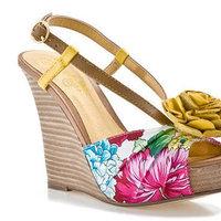 Shoes, Fashion, yellow, pink