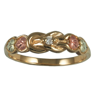 pink, green, gold, Ring, Promise