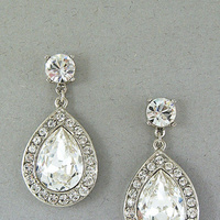 Jewelry, Earrings, Old, Hollywood, B, Regina