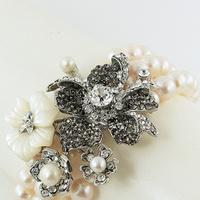 Jewelry, Bracelets, Bracelet, B, Regina, 2102, Rh