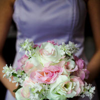Ceremony, Reception, Flowers & Decor, Wedding Dresses, Fashion, white, ivory, pink, dress, Ceremony Flowers, Bride Bouquets, Flowers, Roses, Bouquet, And, Water, With, Inspiration board, Silk, Droplets, Flower Wedding Dresses, Silk Wedding Dresses