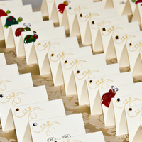 Reception, Flowers & Decor, Stationery, white, gold, Place Cards, Placecards