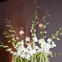 Reception, Flowers & Decor, white, gold, Centerpieces, Flowers, Centerpiece