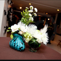 Flowers & Decor, blue, green, brown, gold, Flowers, Peacock, Vases, Inspired