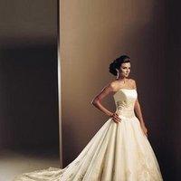 Ceremony, Flowers & Decor, Wedding Dresses, Fashion, white, gold, dress